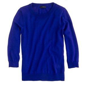 Like New Tippi Sweater in Cobalt Blue
